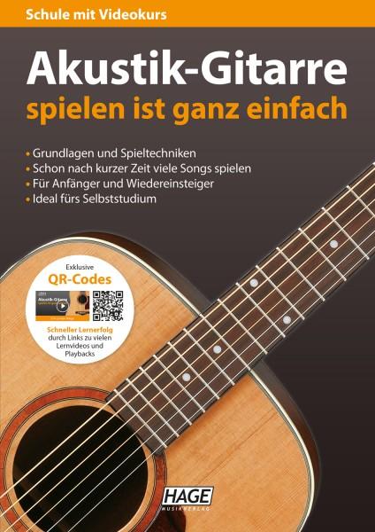 Akustik-Gitarre spielen ist ganz einfach
