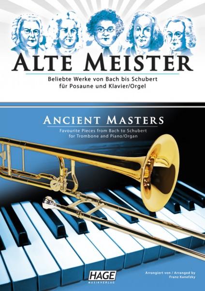 Alte Meister für Posaune und Klavier/Orgel