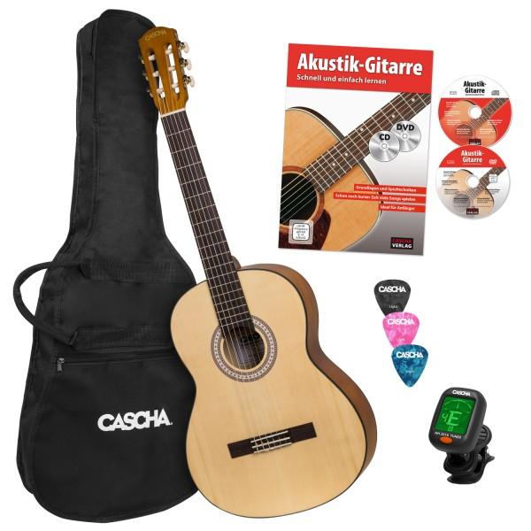 Student Series 4/4 Konzertgitarre Bundle