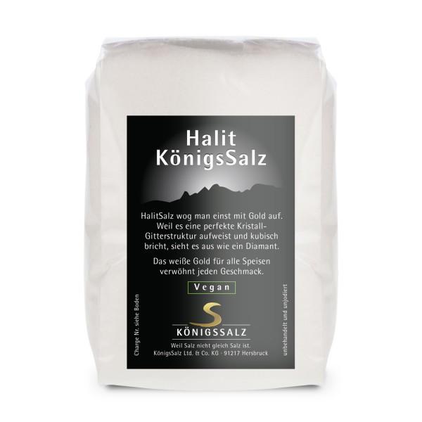 HalitKönigsSalz gemahlen Tüte 250g