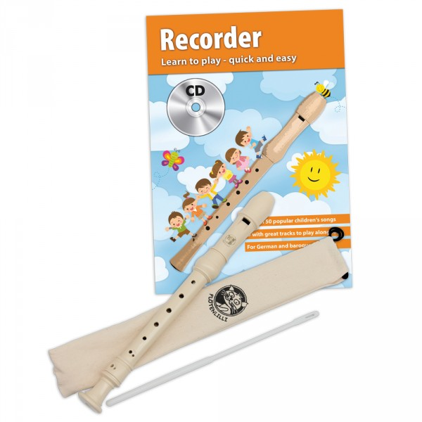 Recorder Set - German Fingering