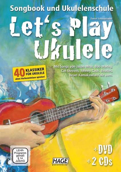 Let's Play Ukulele (mit 2 CDs und DVD)