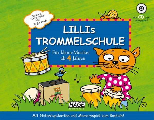 Lillis Trommel Schule (mit CD)