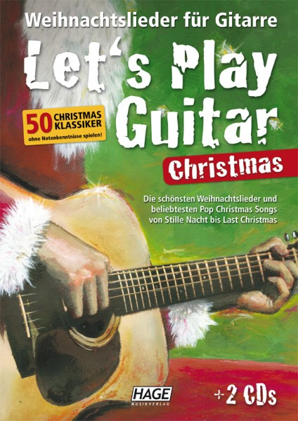 Let's Play Guitar Christmas (mit 2 CDs)