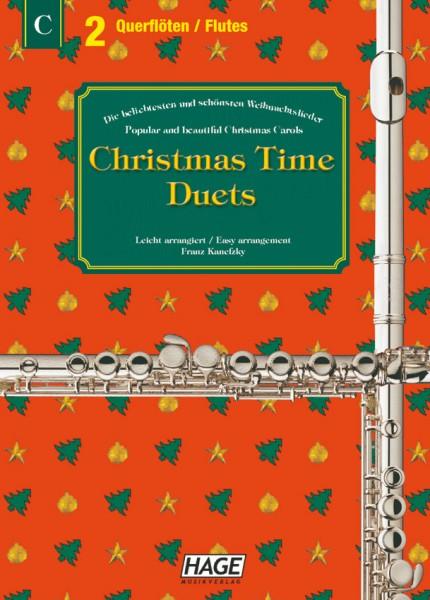 Christmas Time Duets für 2 Querflöten