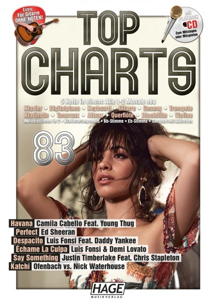 Top Charts 83 (mit CD)