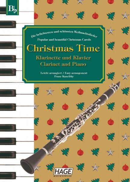 Christmas Time für Klarinette und Klavier
