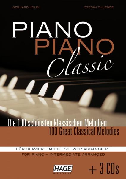 Piano Piano Classic mittelschwer (mit 3 CDs)