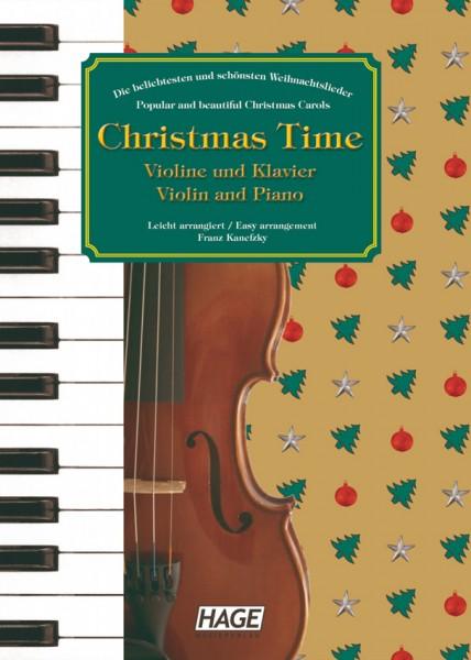 Christmas Time für Violine und Klavier