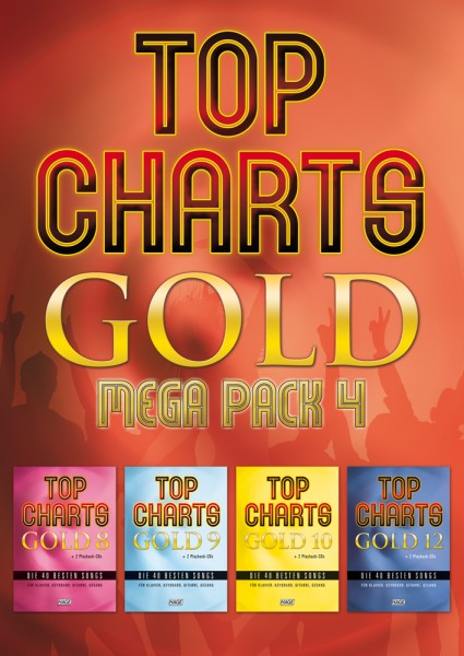 Top Charts Gold Mega Pack 4 (mit 8 CDs)