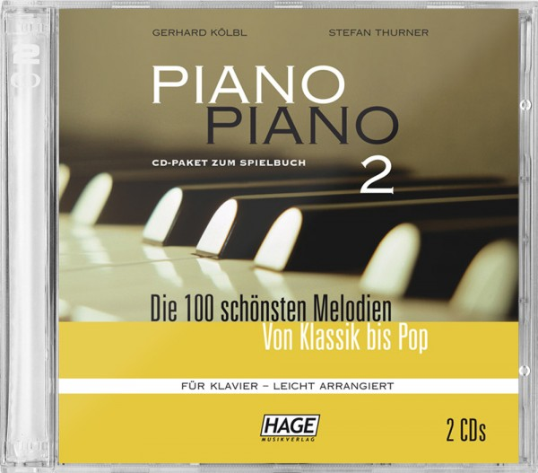 Piano Piano 2 leicht CD-Paket (2 CDs)
