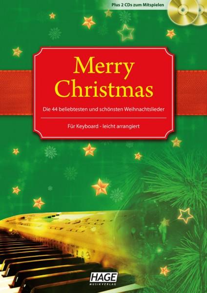 Merry Christmas für Keyboard (mit 2 CDs)